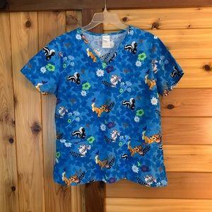 👩⚕️ 💯% Cotton Disney Bambi scrub top